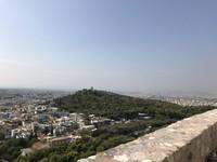 Pusat Kota Athena tampak dari ketinggian Akropolis. (Foto: Ristiyanti Handayani/dtraveler)