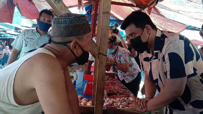 Bobby saat kampanye di Medan (Ahmad Arfah-detikcom)