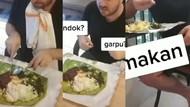 Kocaknya Bule Bandingkan Cara Makan Saat 1 Hari dan 1 Tahun di Indonesia