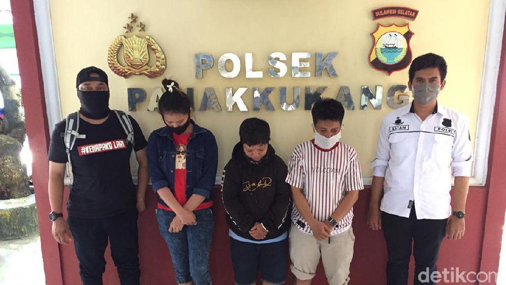 Tersinggung Status Medsos, Emak-emak di Makassar Keroyok Tetangga Kos