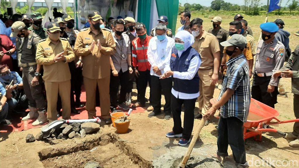 Gubernur Khofifah Mulai Bangun RS Rujukan di Kota Probolinggo