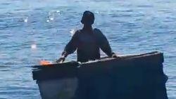 Penyelamatan Nelayan Lansia, Terombang-ambing 6 Hari di Laut Lepas