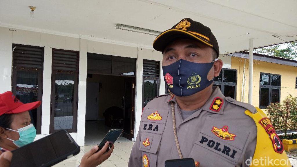 7 Anggota Polres Mimika Papua Positif Corona