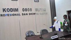 Pulang Secaba TNI, 10 Anggota Kodim Blitar Positif COVID-19