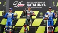 Hat-trick Joan Mir dan Double Podium Suzuki di MotoGP Catalunya 2020