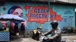 Lewat Mural, Warga Yogya Ajak Lawan COVID-19