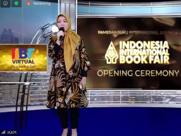 Pembukaan Indonesia International Book Fair (IIBF) 2020 Edisi Virtual