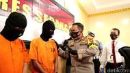 Dua Pria Gelapkan Ribuan Sepatu Ekspor di Serang