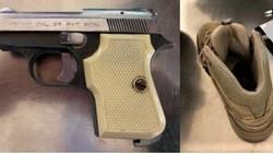 Lewati Pos Keamanan Bandara, Pria Ini Selundupkan Pistol di Sepatu