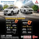 Xpander Exceed Jadi Andalan Mobil Keluarga, Nikmati Bunga Cicilan 0%!