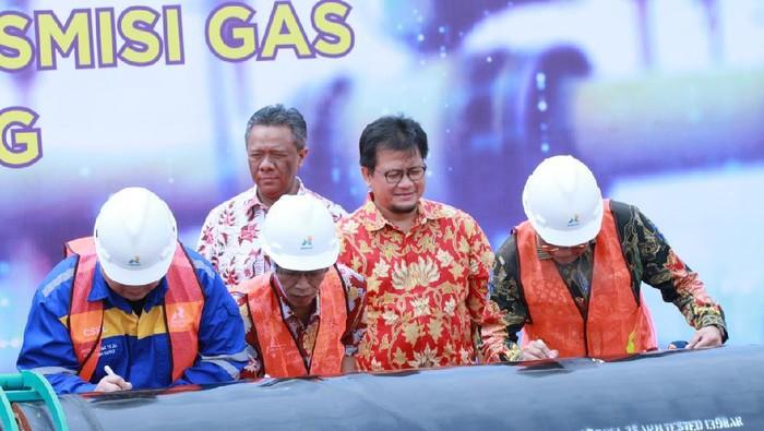 Proyek pipa gas transmisi Gresik-Semarang (Gresem) milik Pertagas hampir selesai. Proyek yang mulai sejak Oktober 2014 ini diperkirakan akan selesai pada Maret 2020.