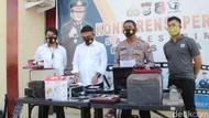 Residivis Curi 86 Elektronik Warga Gowa Pakai Modus Mati Lampu Ditembak
