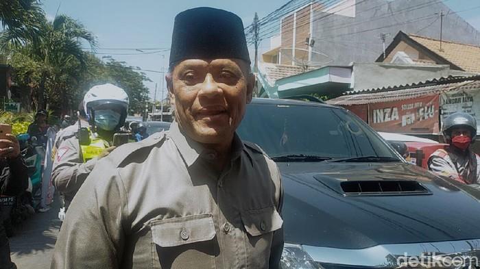 salah satu tokoh deklator KAMI Gatot Nurmantyo di Surabaya.