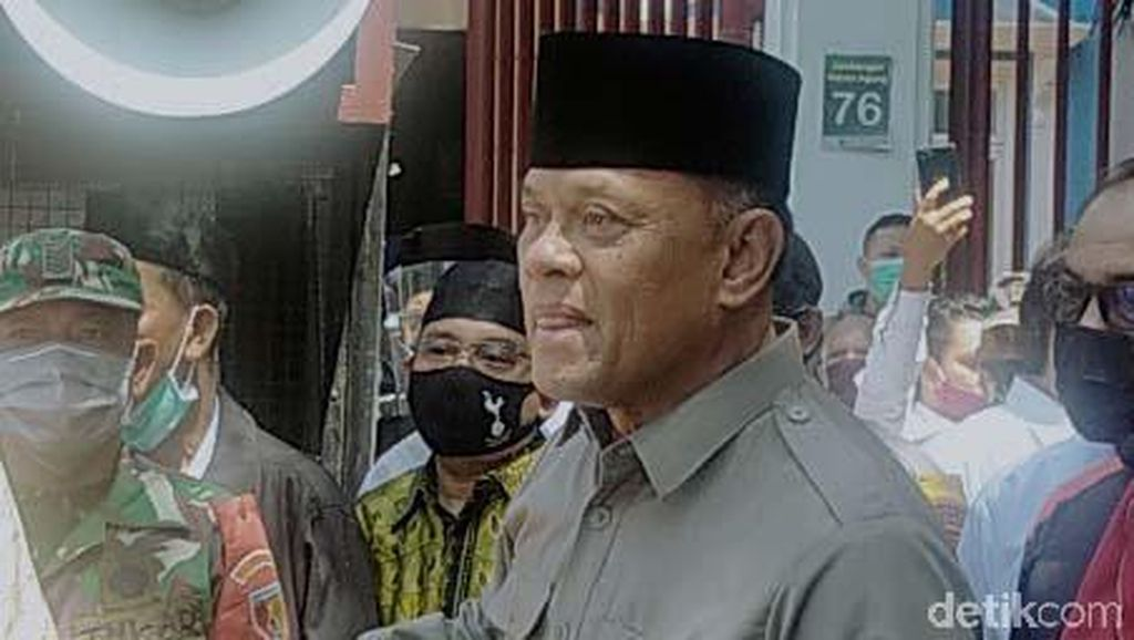 Video Detik-detik Pidato Gatot Nurmantyo di Surabaya Disetop Polisi