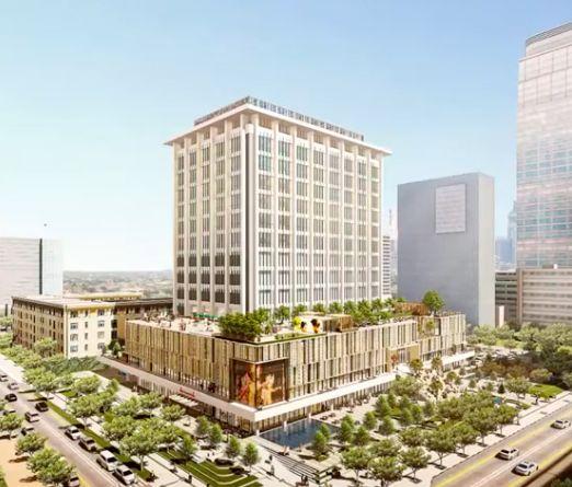 Pusat perbelanjaan Sarinah di Jakarta Pusat sedang direnovasi sebagai bentuk transformasi bisnis perusahaan ritel milik negara tersebut. Sarinah akan rampung pada 17 Agustus 2021.