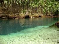 Menurut peneliti dasar sungai ini berupa goa yang ujungnya ke Laut Filipina.