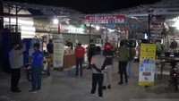 Layani Pembeli Makan di Tempat saat PSBB, Kuliner di Jagakarsa Disegel