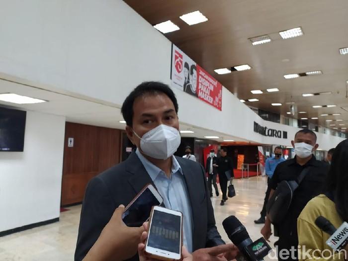 Wakil Ketua DPR Azis Syamsuddin (Nur Azizah Rizki/detikcom)