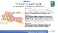 6 Kabupaten/Kota di Jawa Timur Masih Zona Merah COVID-19