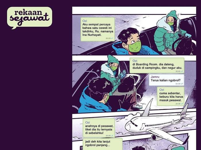 12 Komik Pendek soal Pandemi Karya Rekaan Sejawat