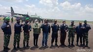 Aktif Kerja Sama-Tangani Karhutla, 9 Tokoh Sumsel Dapat Wing Penerbang AU
