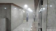 Muncul Asap di Gedung DPR