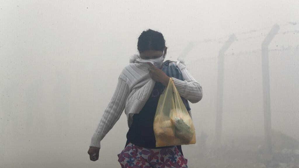 Asap Kebakaran TPA Menutupi Lingkungan Miskin di Paraguay