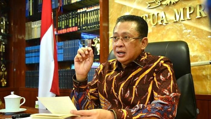 Bambang Soesatyo saat  beri kuliah umum di USU