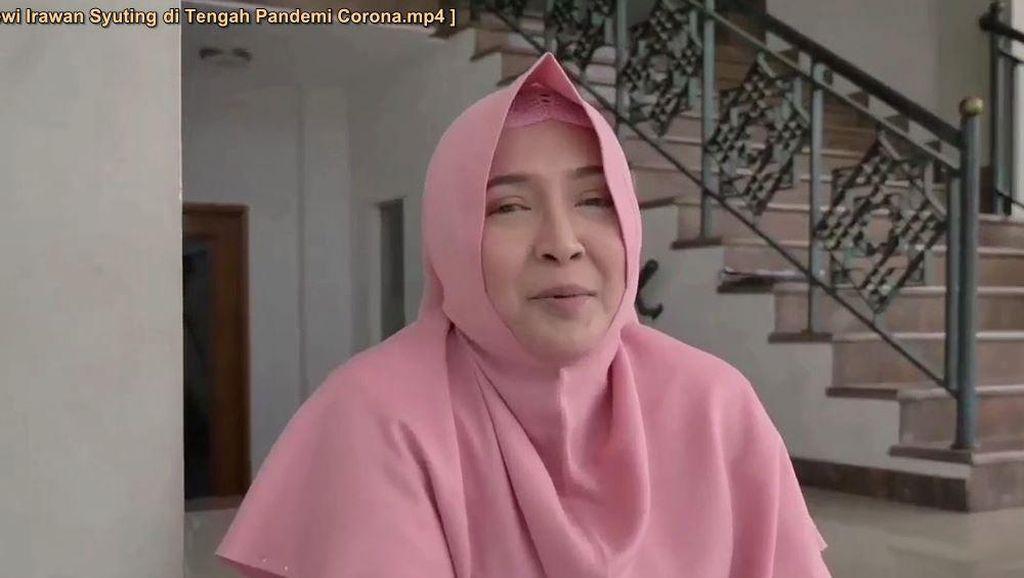 Cerita Dewi Irawan Syuting di Tengah Pandemi Corona