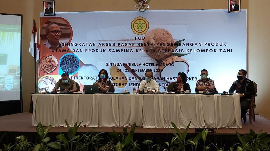 Ekspor Kelapa Jadi Penyumbang Devisa Terbesar ke-4 di Indonesia