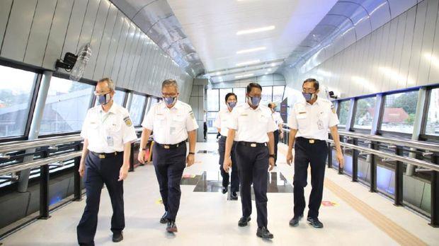 HUT 75 KAI, Skybridge Stasiun Bandung Resmi Beroperasi
