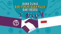 Sederet Saran Bank Dunia Agar RI Tak Lama-lama Resesi