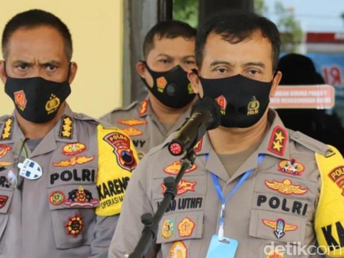 Kapolda Jateng Irjen Ahmad Luthfi saat jumpa pers di Polres Pekalongan, Selasa (29/9/2020).