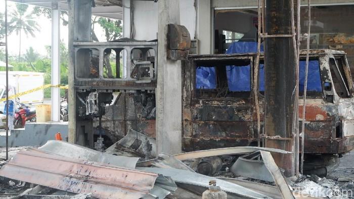Kebakaran SPBU Sawangan, Wonosobo, Jateng