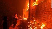 Kilang Anggur Terkenal AS Dilalap Api