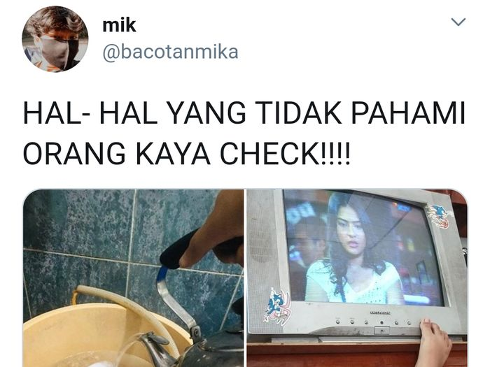 Netizen Ramai Sebutkan Hal-hal yang Tidak Dipahami Orang Kaya
