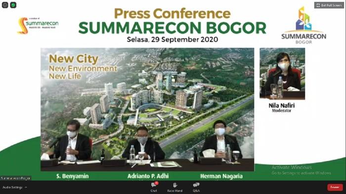 Press Conference Summarecon Bogor