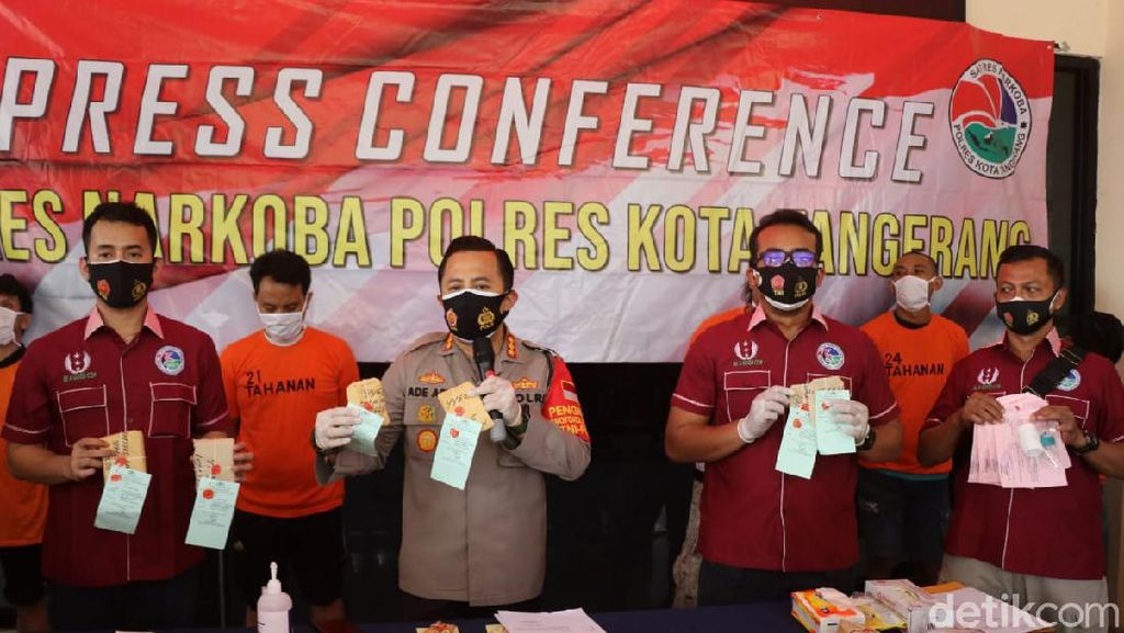 Kualat! Residivis Kembali Dibui Usai Beli Sabu Pakai Uang Ortu