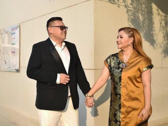 Reza Bukan menikah dengan Serevina Silaen pada Minggu (27/9/2020). (Foto: Facebook Serevina Silaen)