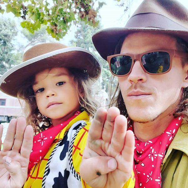 Ryan Dorsey, mantan suami Naya Rivera dan anaknya Josey.