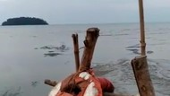 BPBD Jelaskan Heboh Video Air Laut di Pantai Jepara Mendadak Surut