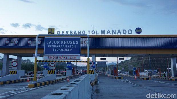 Tol Manado-Bitung yang siap beroperasi