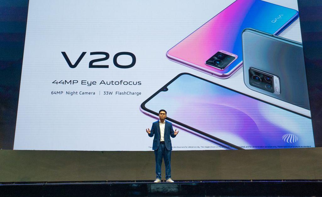 Peluncuran Vivo V20 dan V20 SE pada Selasa (29/9/2020).