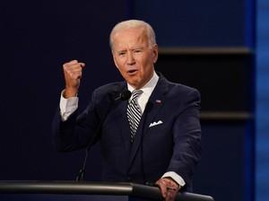 Sindiran Biden ke Trump Lewat Insyaallah Jadi Sorotan