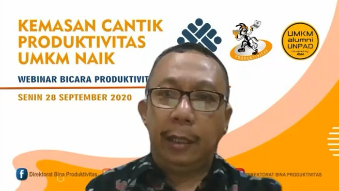 Direktur Bina Produktivitas Kemnaker Fahrurozi