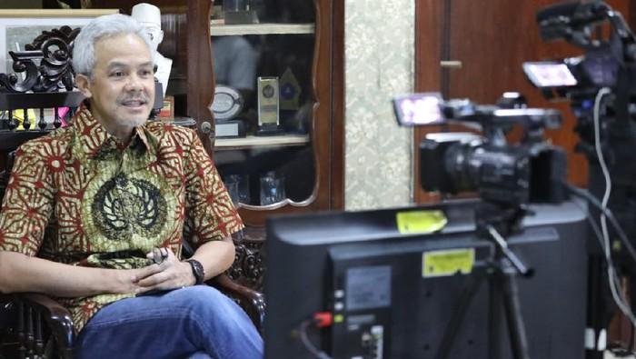 Gubernur Jawa Tengah, Ganjar Pranowo, Rabu (30/9/2020).