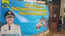 Iklan Layanan Masyarakat Berfoto Cabup Petahana Cianjur Mulai Ditertibkan