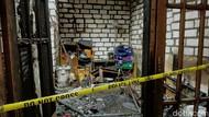Terjebak Dalam Rumah yang Terbakar di Surabaya, Seorang Kakek Tewas