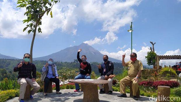 Keindahan 7 Gunung dari Puncak Gupak