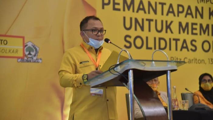 Ketua Fraksi Golkar DPRD DKI, Basri Baco